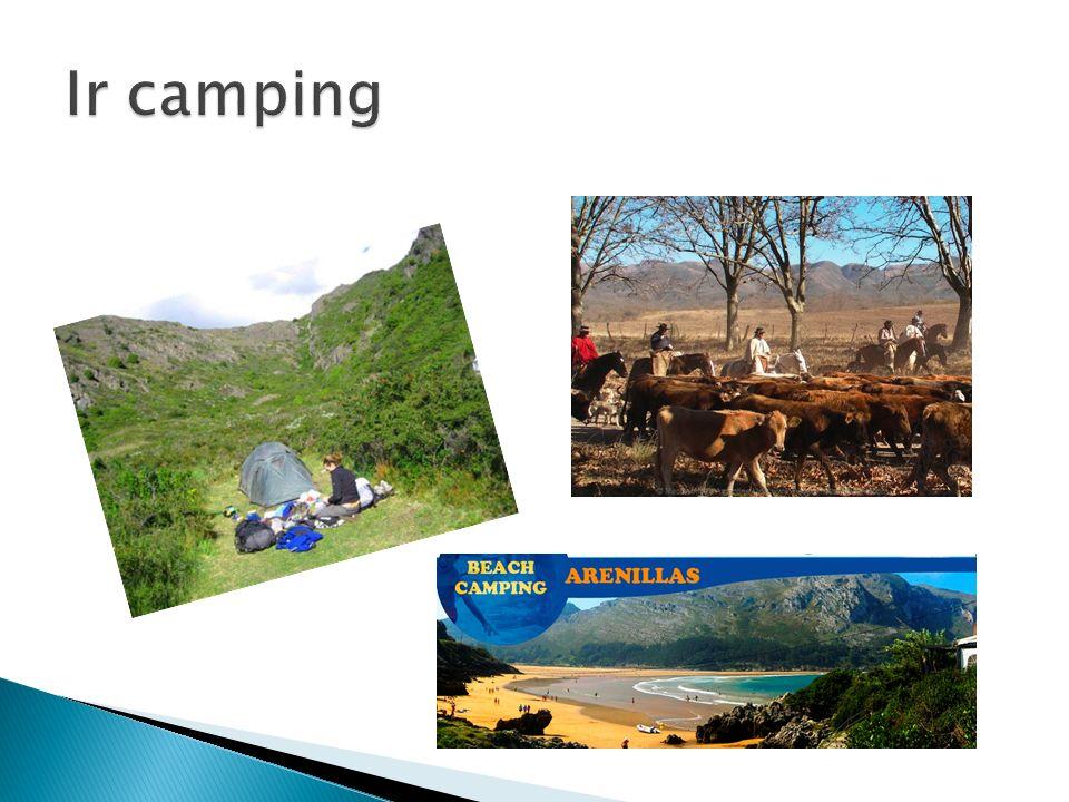 Ir camping