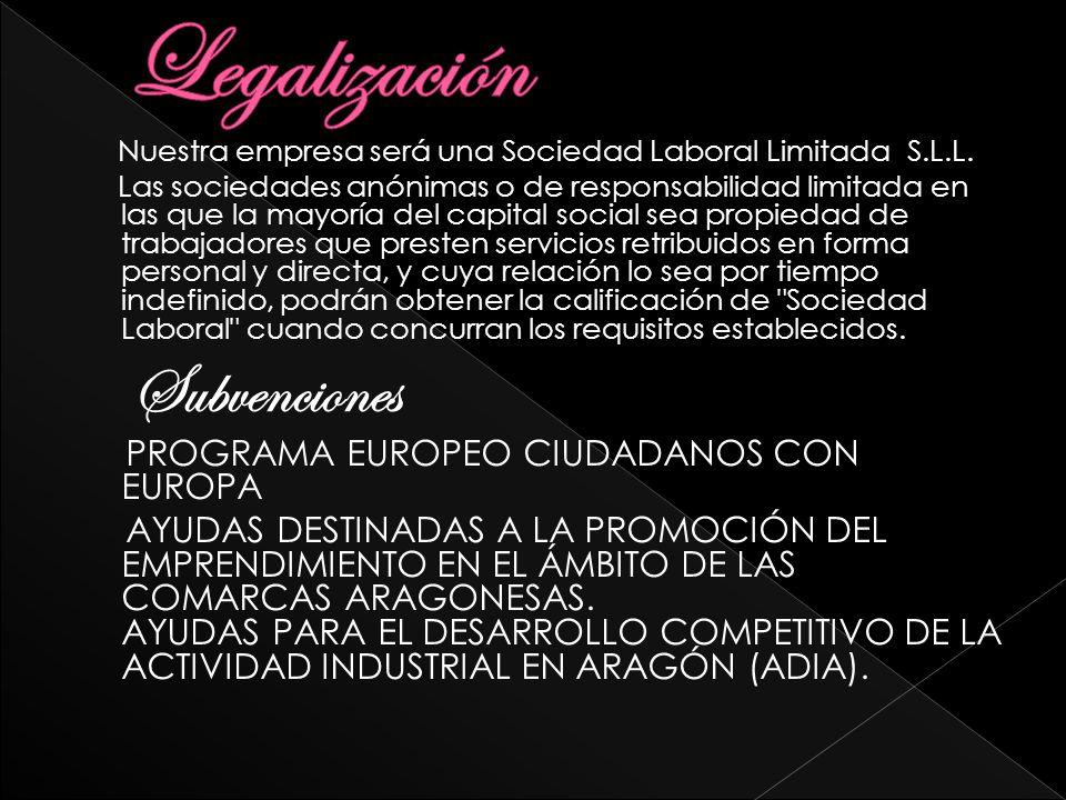Legalización Subvenciones PROGRAMA EUROPEO CIUDADANOS CON EUROPA