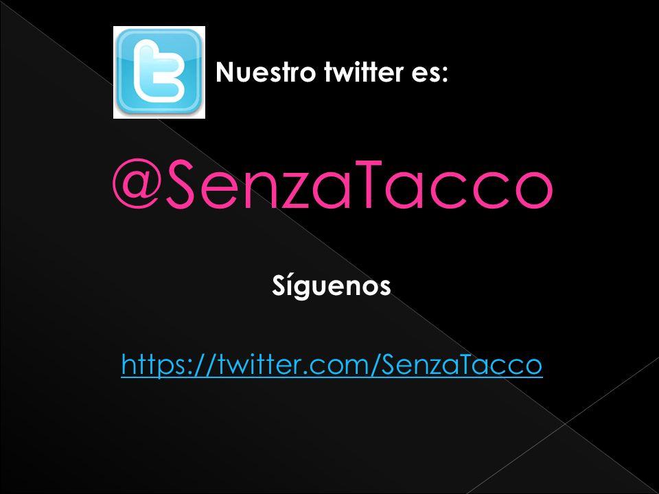 https://twitter.com/SenzaTacco