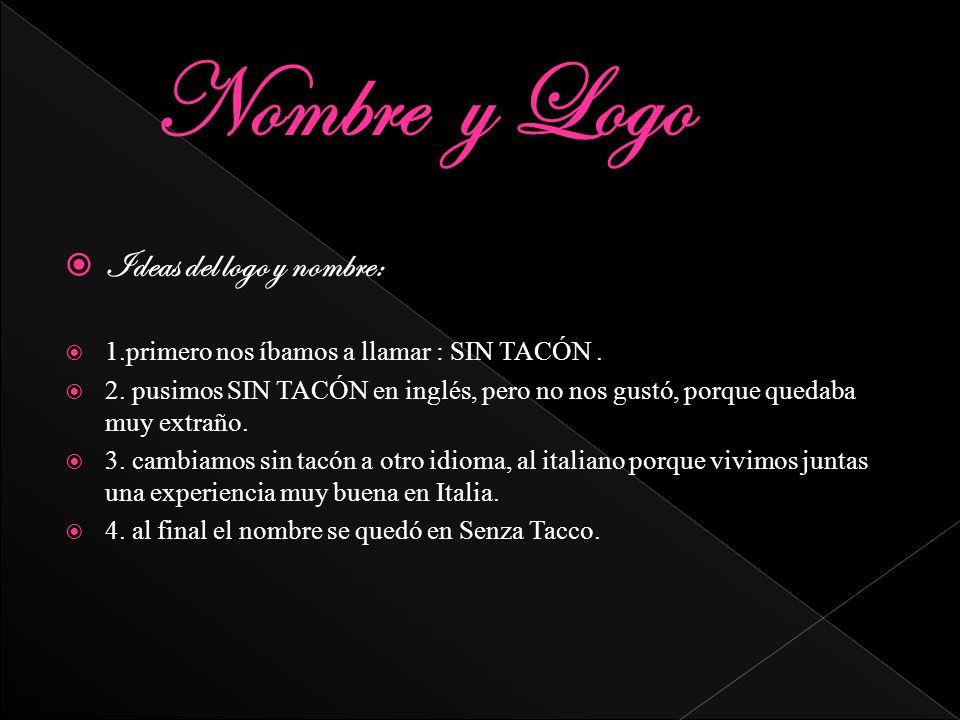 Nombre y Logo Ideas del logo y nombre: