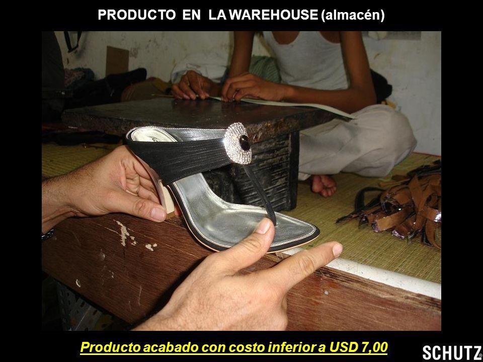 PRODUCTO EN LA WAREHOUSE (almacén)