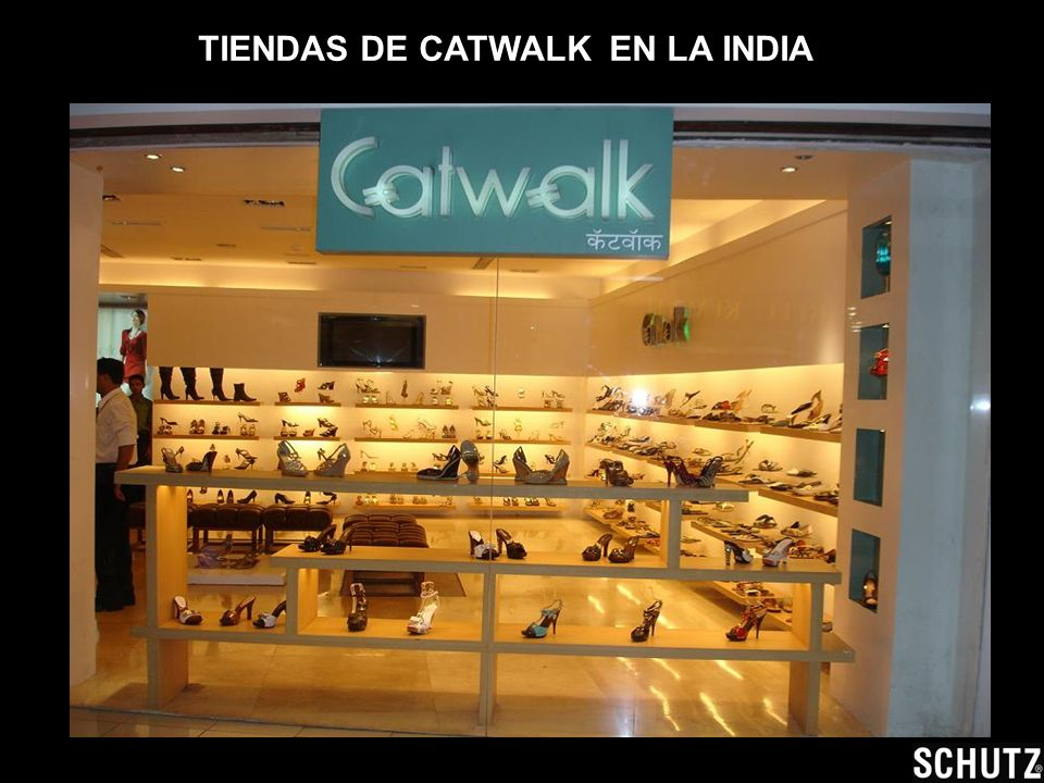 TIENDAS DE CATWALK EN LA INDIA