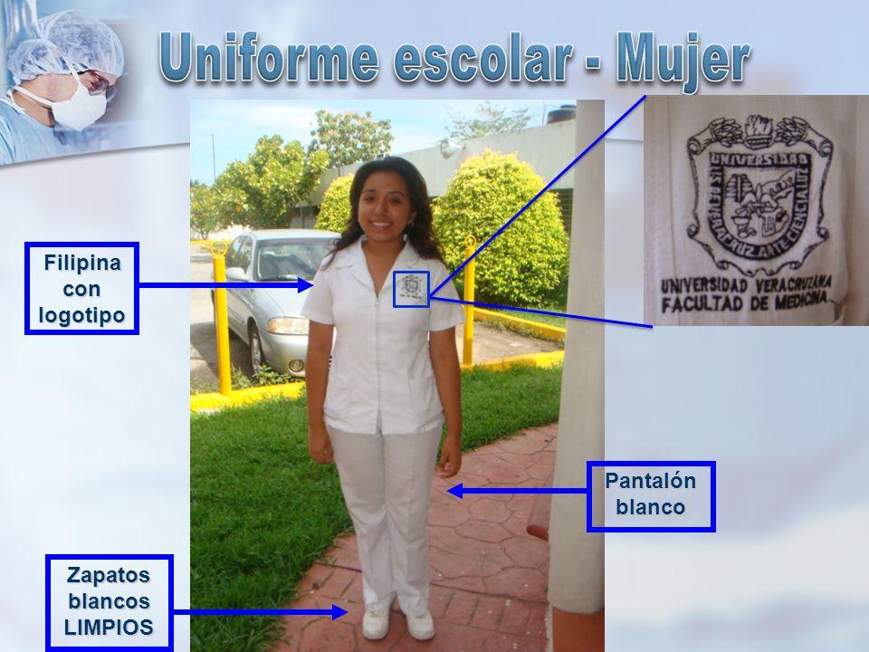 Uniforme escolar - Mujer Zapatos blancos LIMPIOS