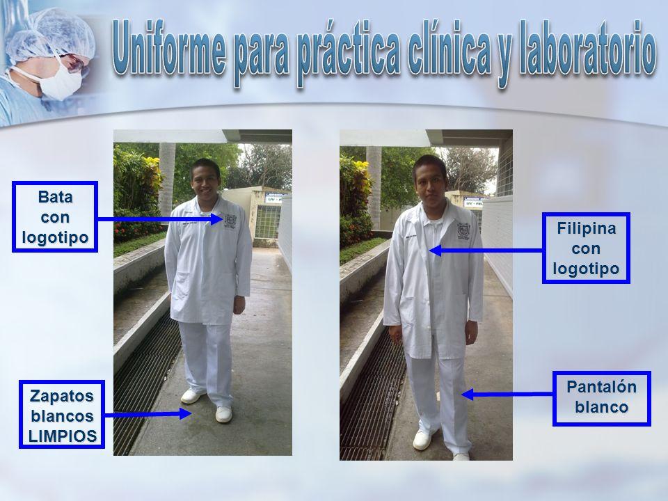 Uniforme para práctica clínica y laboratorio