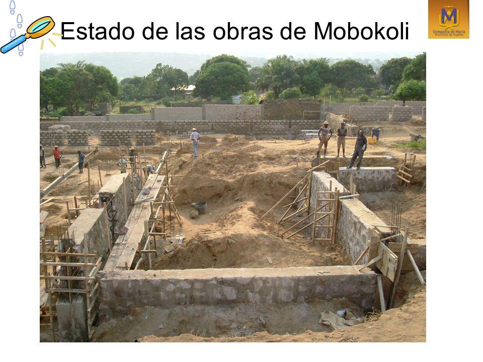 Estado de las obras de Mobokoli