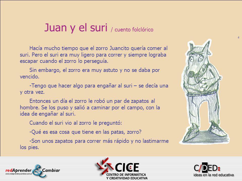 Juan y el suri / cuento folclórico