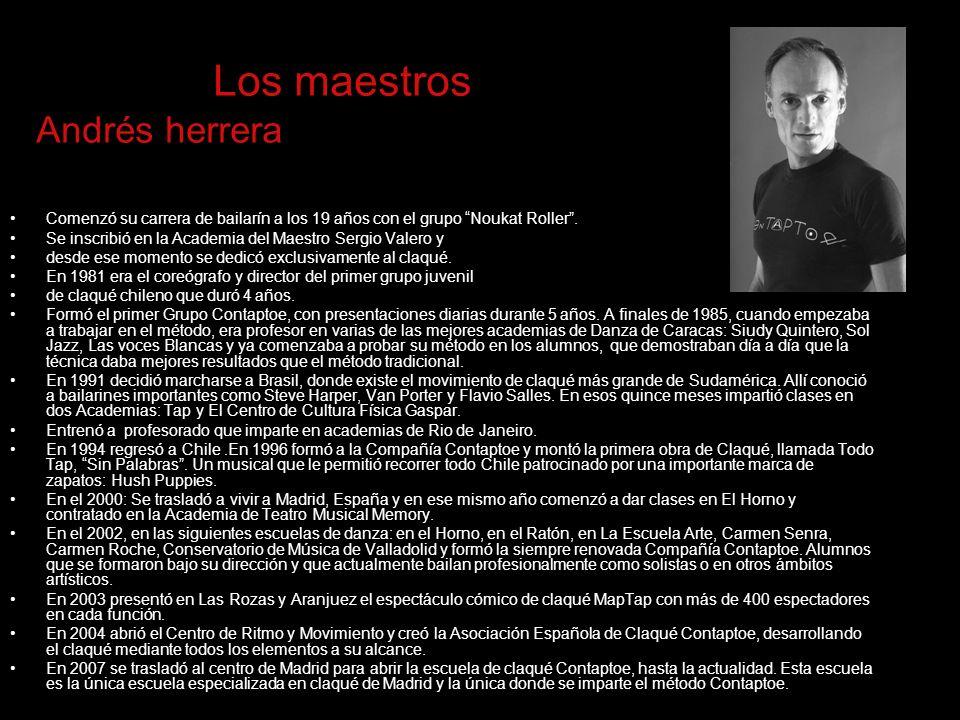 Los maestros Andrés herrera