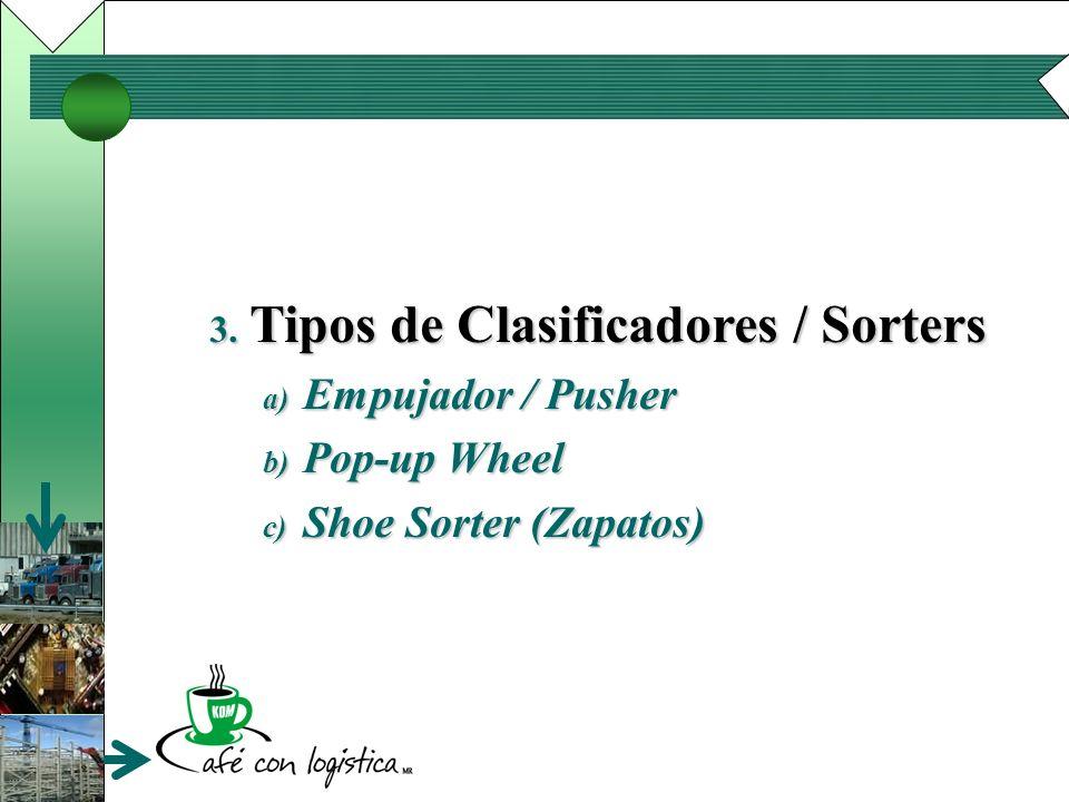 Tipos de Clasificadores / Sorters