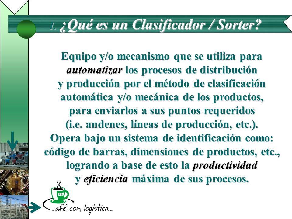 ¿Qué es un Clasificador / Sorter