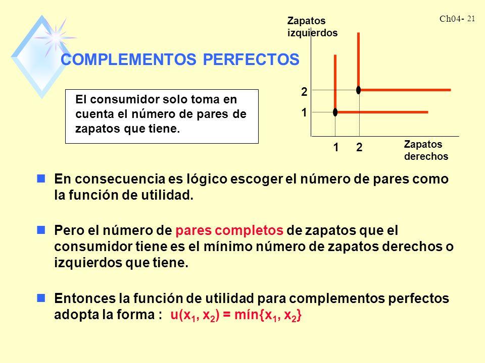COMPLEMENTOS PERFECTOS