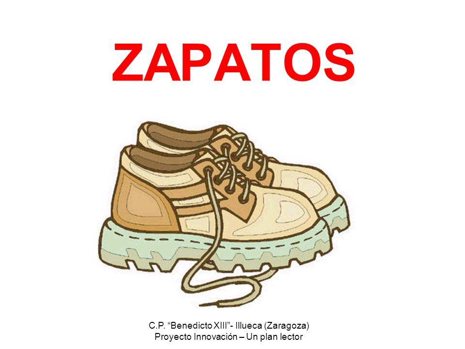 ZAPATOS C.P. Benedicto XIII - Illueca (Zaragoza)