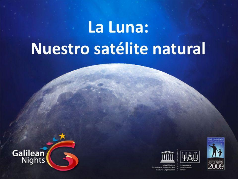 Nuestro satélite natural