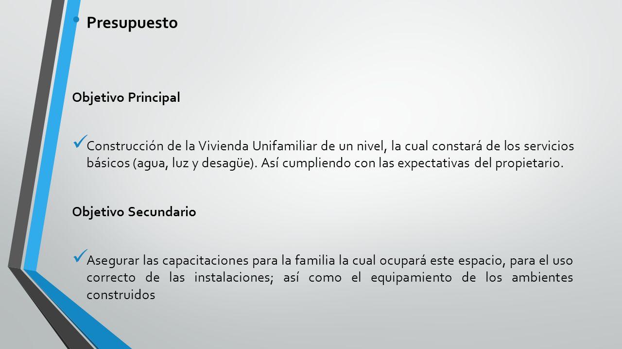 Construcci n de vivienda unifamiliar de adobe ppt descargar - Presupuesto vivienda unifamiliar ...