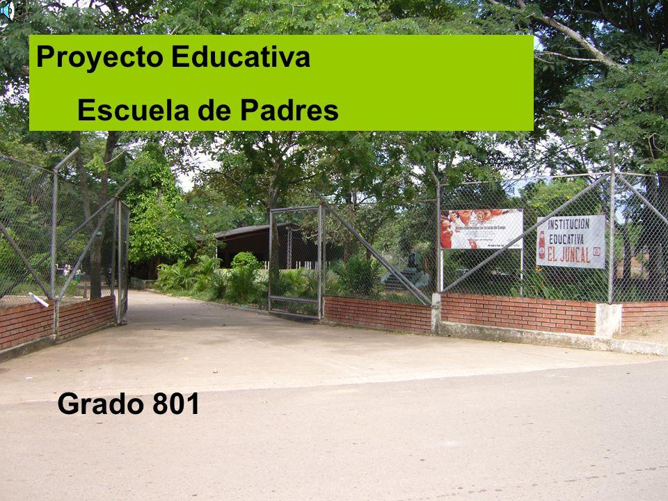 Proyecto Educativa Escuela de Padres Grado 801