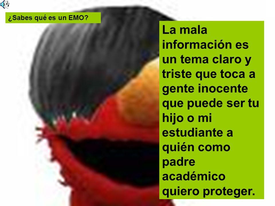¿Sabes qué es un EMO
