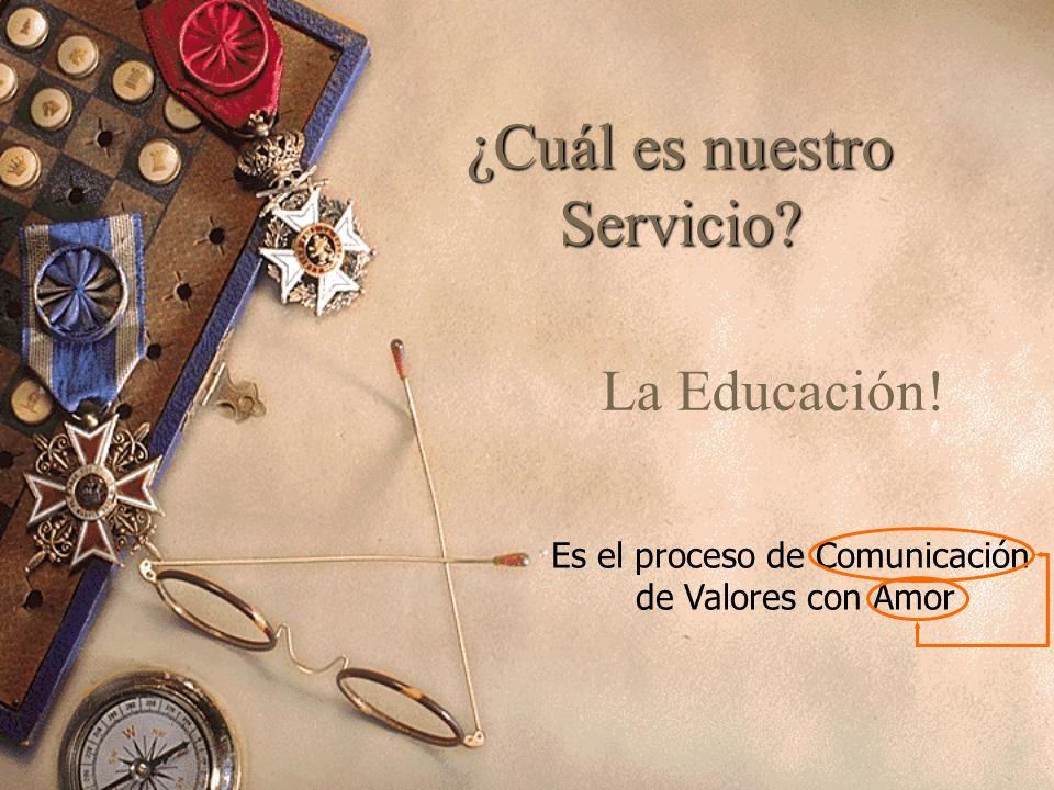 ¿Cuál es nuestro Servicio