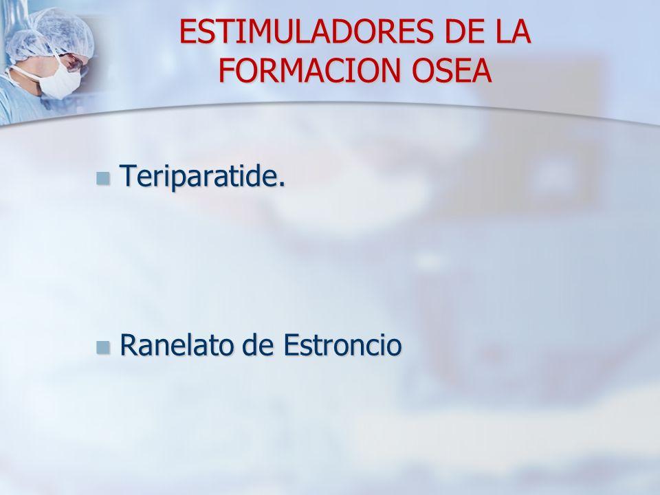 ESTIMULADORES DE LA FORMACION OSEA