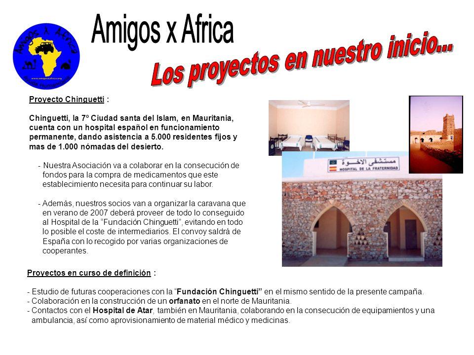 Los proyectos en nuestro inicio...