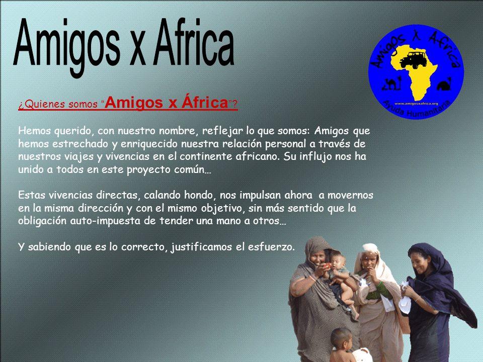Amigos x Africa ¿Quienes somos Amigos x África