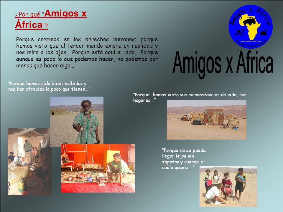 Amigos x Africa ¿Por qué Amigos x África