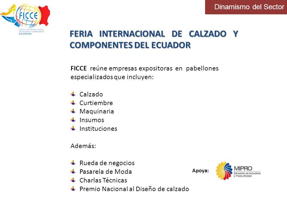 FERIA INTERNACIONAL DE CALZADO Y COMPONENTES DEL ECUADOR