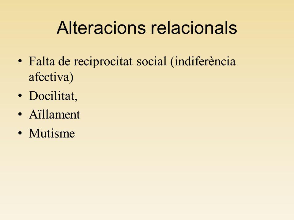 Alteracions relacionals