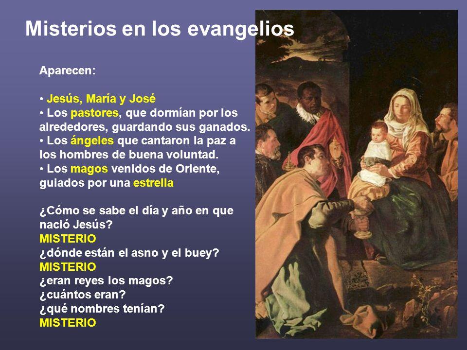 Misterios en los evangelios