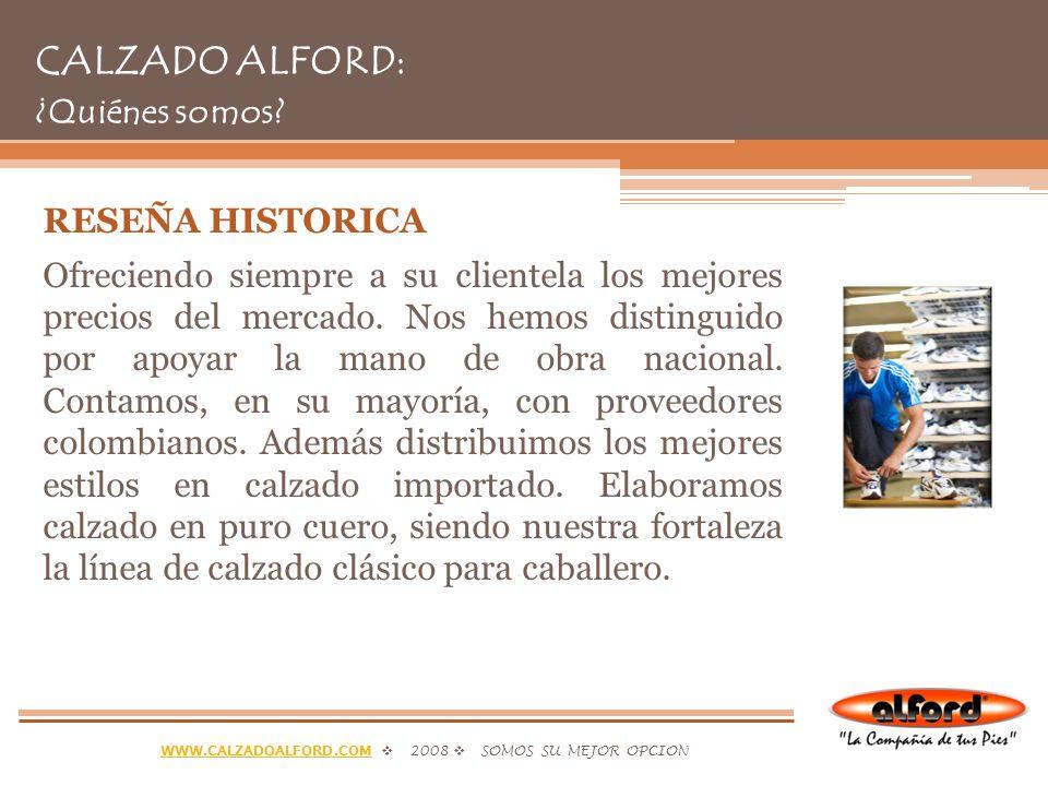 CALZADO ALFORD: ¿Quiénes somos
