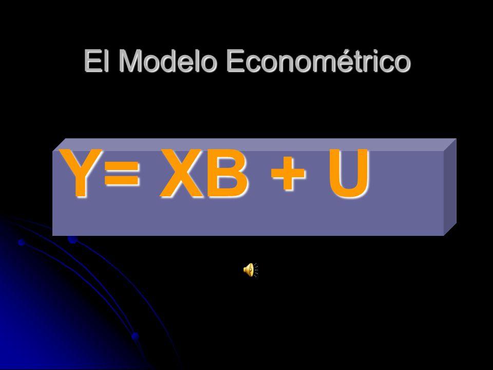 El Modelo Econométrico
