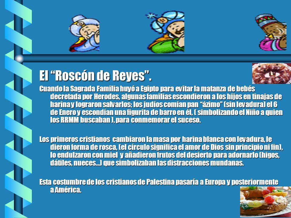 El Roscón de Reyes .
