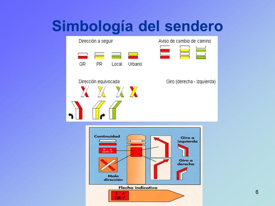 Simbología del sendero