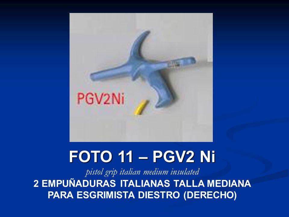 FOTO 11 – PGV2 Ni pistol grip italian medium insulated
