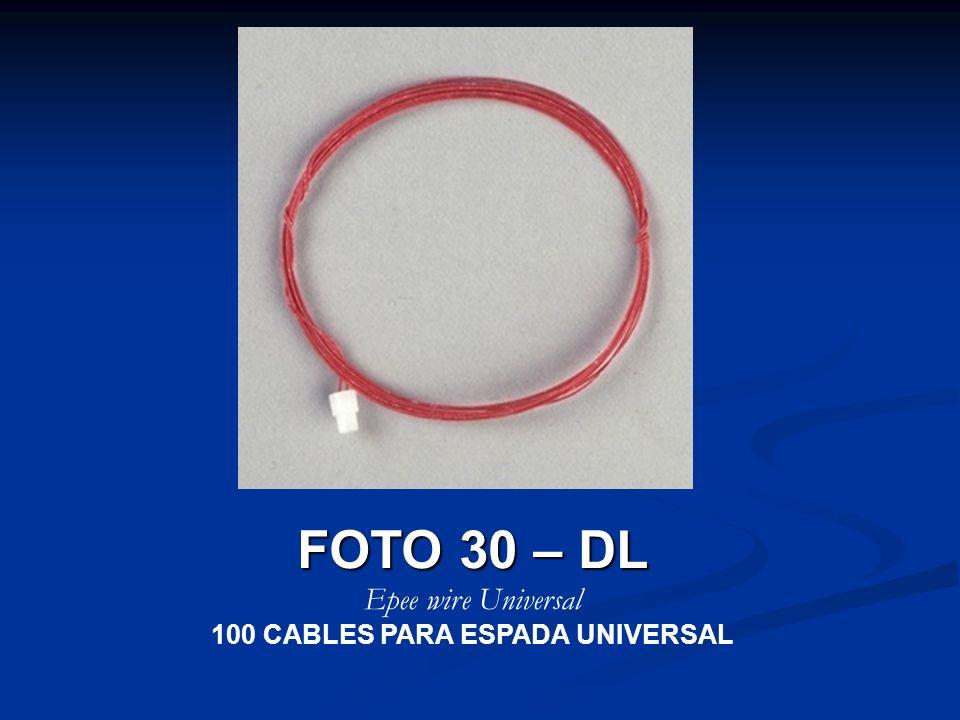 100 CABLES PARA ESPADA UNIVERSAL
