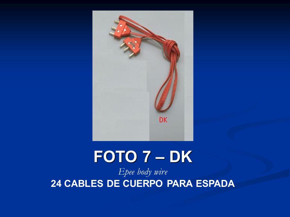 24 CABLES DE CUERPO PARA ESPADA