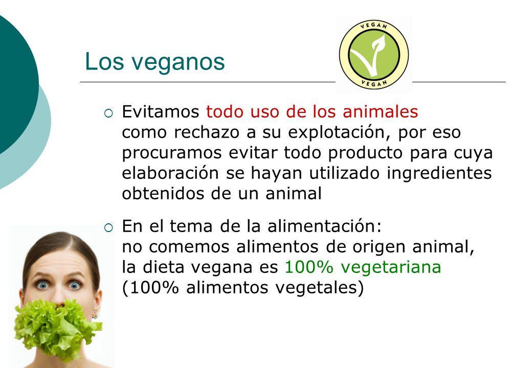 Los veganos