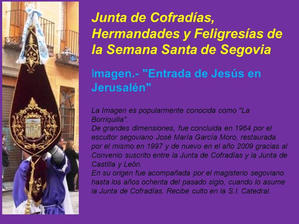 Junta de Cofradías, Hermandades y Feligresías de la Semana Santa de Segovia