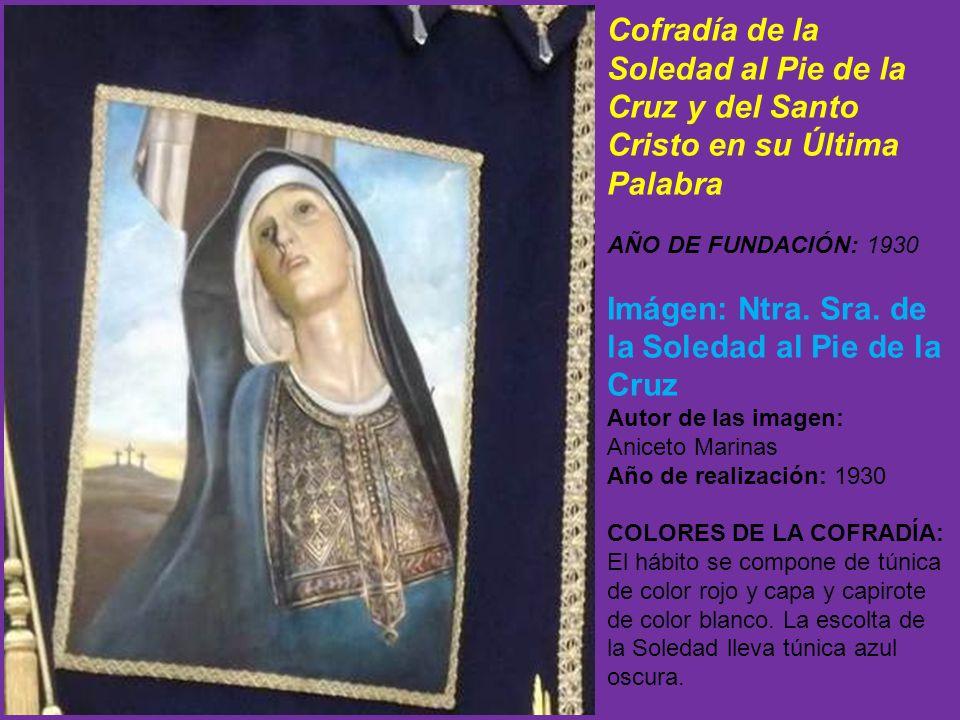 Imágen: Ntra. Sra. de la Soledad al Pie de la Cruz