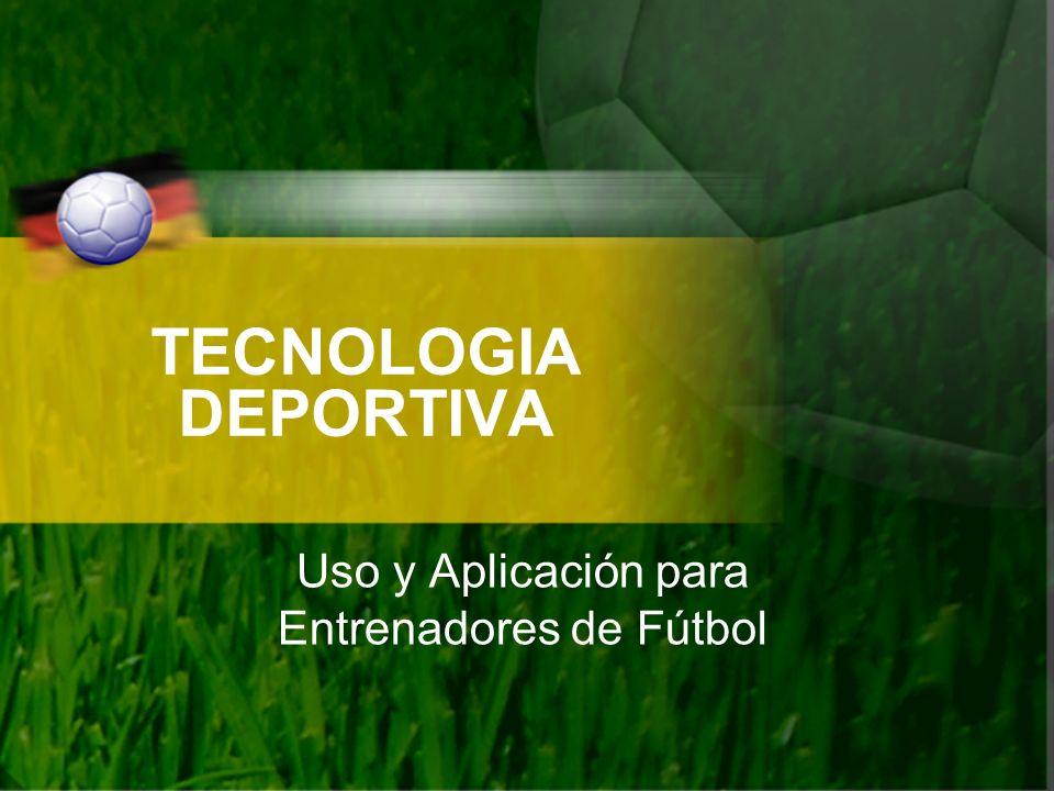 Uso y Aplicación para Entrenadores de Fútbol