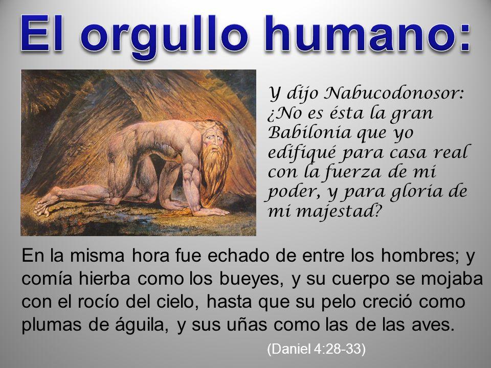 El orgullo humano: