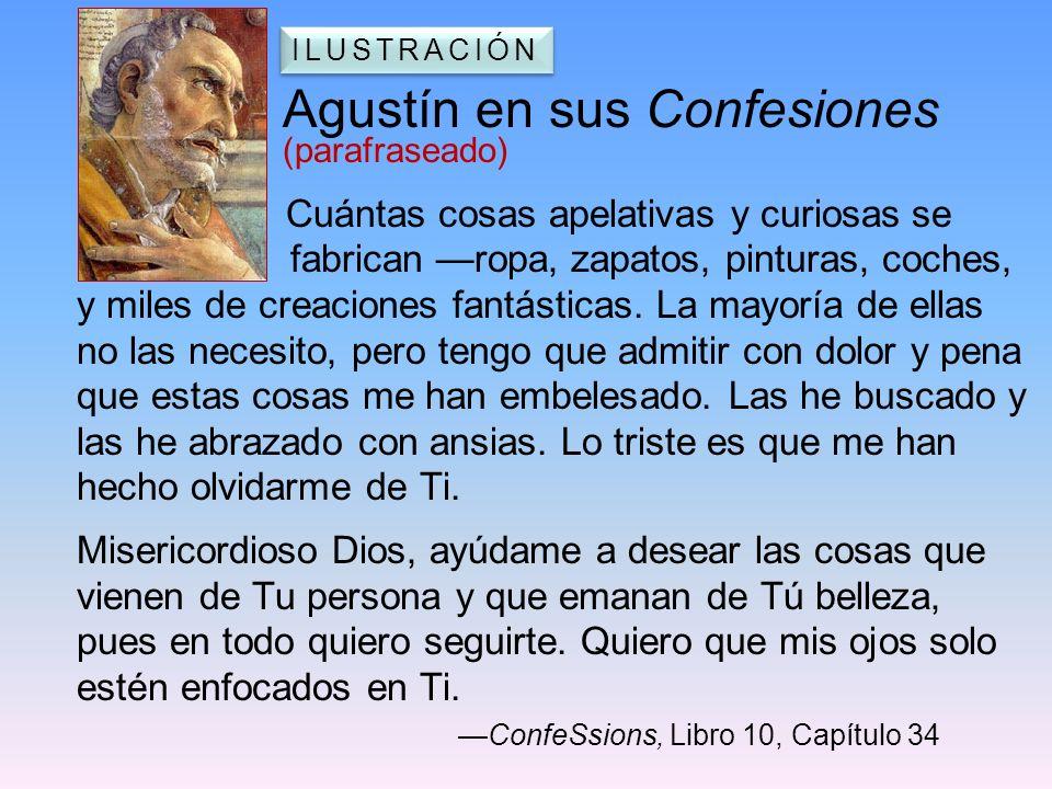 Agustín en sus Confesiones