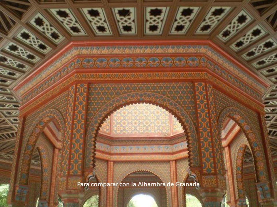 Para comparar con la Alhambra de Granada