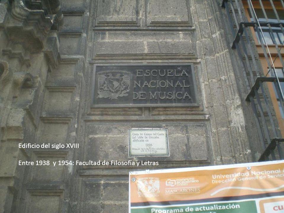 Edificio del siglo XVIII