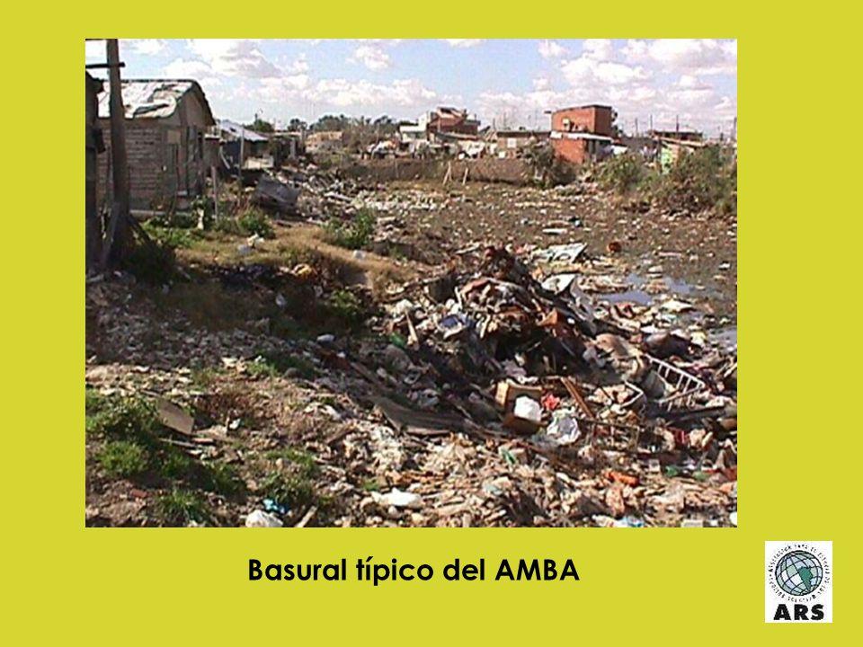 Basural típico del AMBA