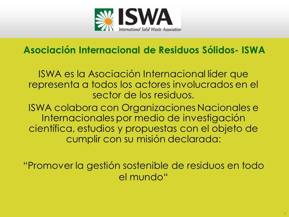 Asociación Internacional de Residuos Sólidos- ISWA