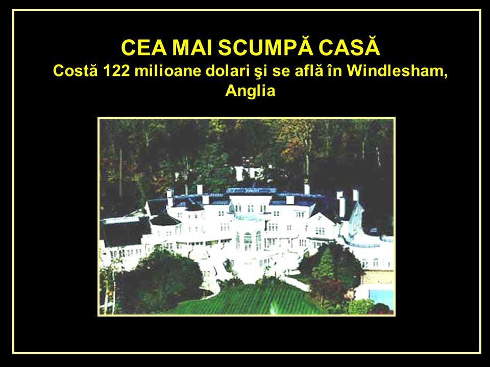 Costă 122 milioane dolari şi se află în Windlesham,