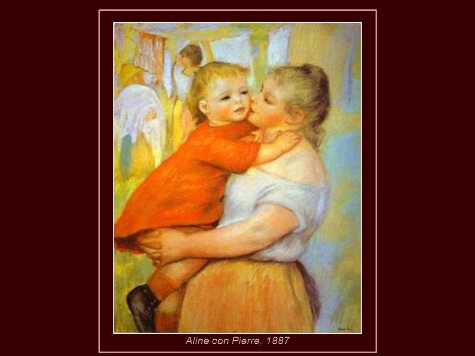 Aline con Pierre, 1887
