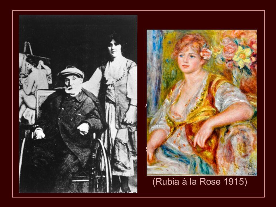 A partir de 1912, Renoir se trasladó a una silla de ruedas