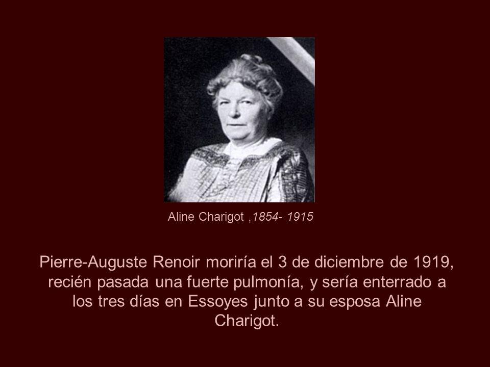 Aline Charigot ,1854- 1915