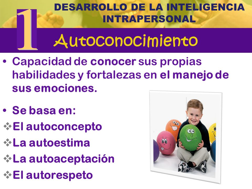 DESARROLLO DE LA INTELIGENCIA INTRAPERSONAL