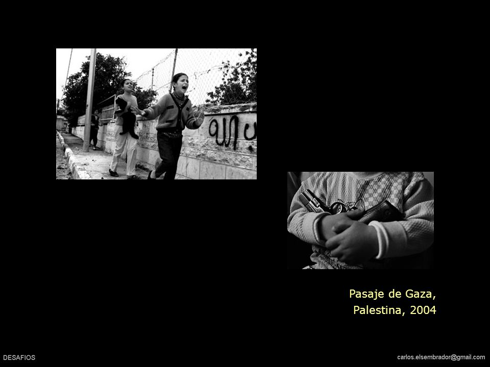 Pasaje de Gaza, Palestina, 2004